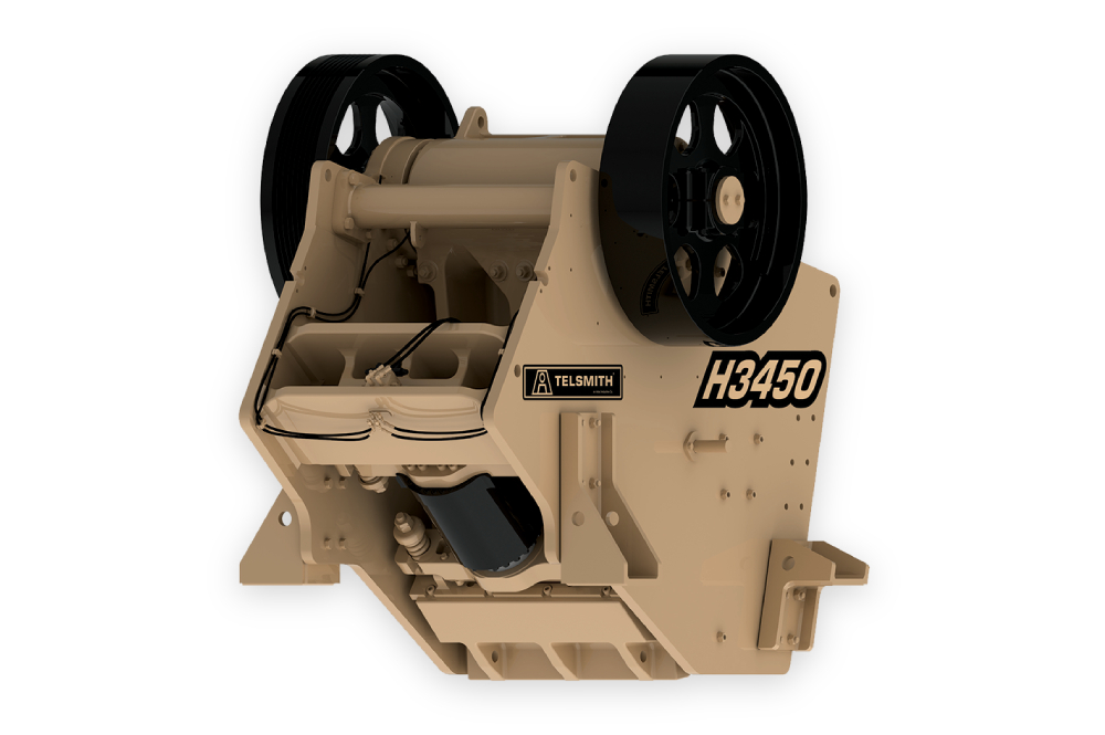 Telsmith Jaw Crusher H3450