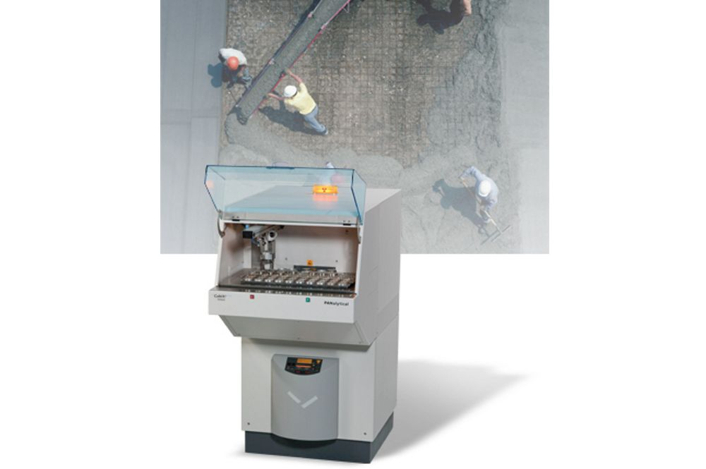 PANalytical CubiX³ Cement X-Ray Diffractometer (XRD)
