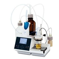 SI Analytics - Titrator TitroLine® 7500 KF module with 20 ml exchangeable head