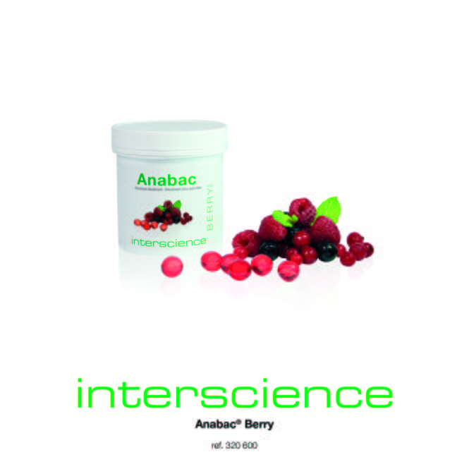 Interscience - Autoclave Deodorants Anabac Berry