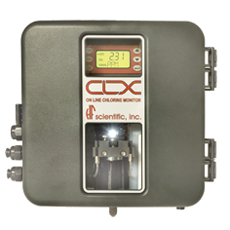 HF Scientific - Environmental Testing Equipment - CLX Online Residual Chlorine Monitor