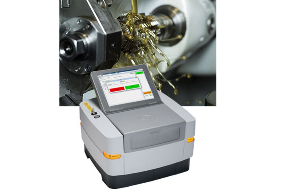 PANalytical Epsilon 1 Benchtop XRF Spectrometer - Lubricating oils