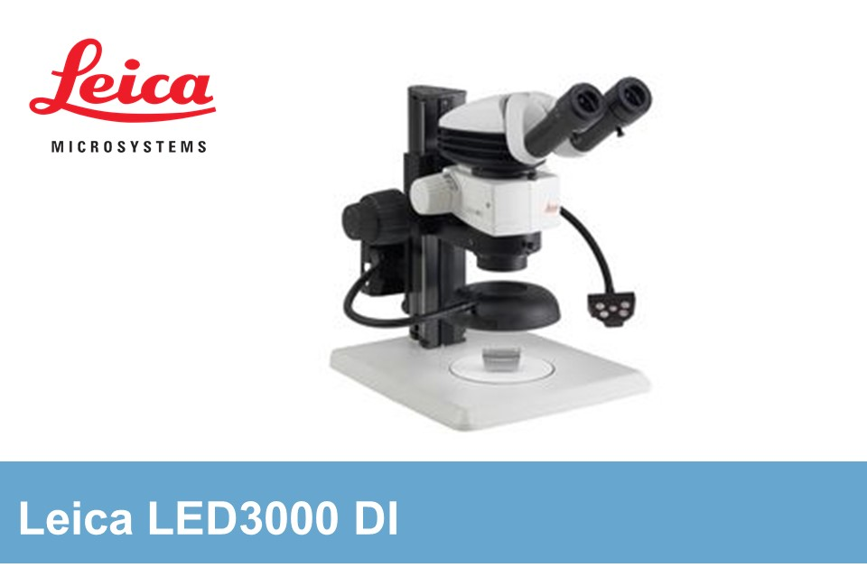 Extremely high-performance LED vertical illuminator for recesses and holes Leica LED5000 NVI