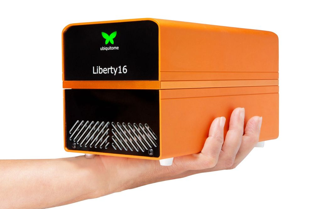 Ubiquitome Liberty16 mobile real time PCR system