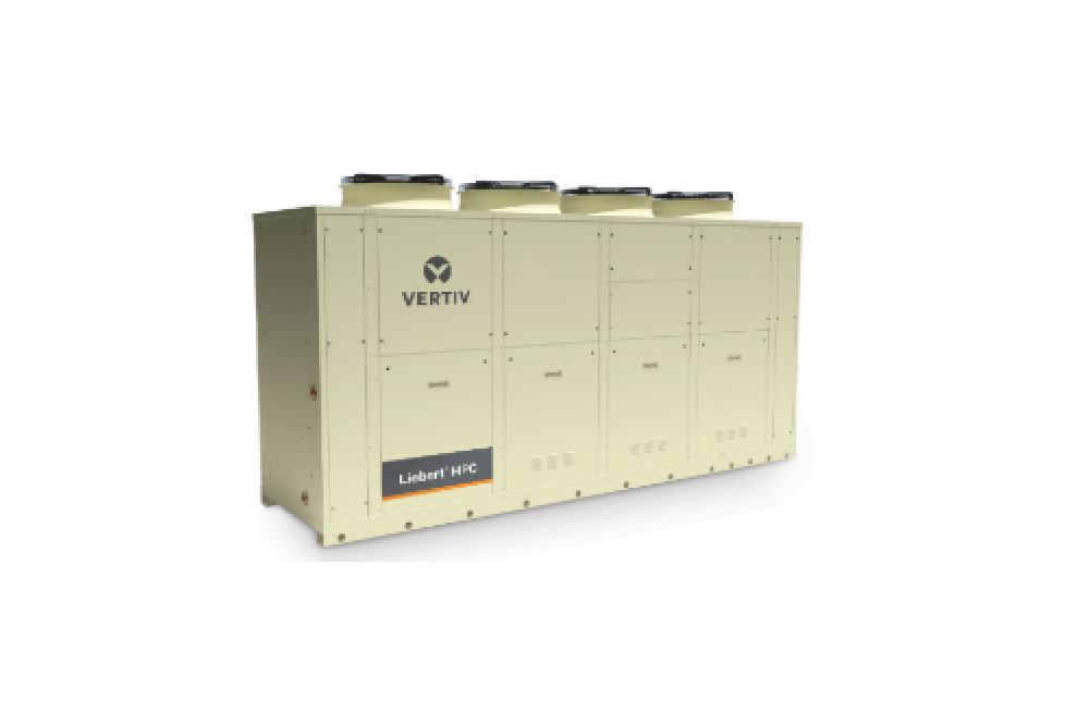 The Liebert HPC-S provides chiller support for small to mid-sized computer rooms, with cooling capacities of 192kW (55 tons), 285kW (81 tons) and 362kW (103 tons).