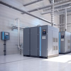 Atlas Copco - Rotary screw and rotary tooth oil-free air compressor - ZR & ZT (VSD)