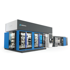 SOMA - Flexographic printing presses - Optima series