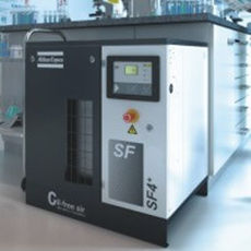 Atlas Copco - Oil-free scroll compressor - SF and SF+