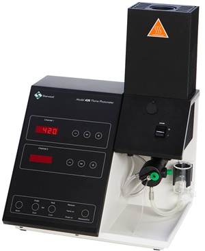 Model 420 and 425 Dual Channel Flame Photometer Range