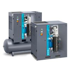 Atlas Copco - Oil-lubricated screw compressor - G (VSD) & GX