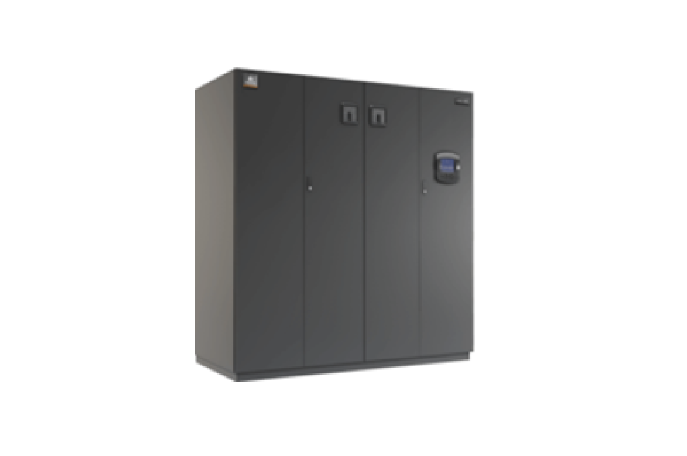 Coolant chiller unit available in an air cooled configuration with remote condenser.